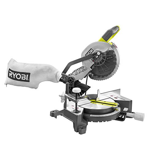 RYOBI 7-1/4 in. Miter Saw 9 AMP. Light Weight With Blade