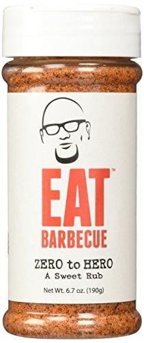 barbecue zero EAT Barbecue Zero to Hero Sweet Rub 6.7oz by EAT Barbecue