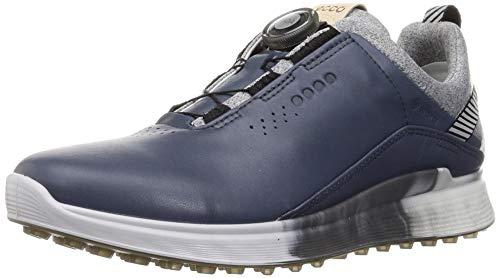 ECCO S-Three Boa, Zapatos de Golf Hombre, Ombre White, 42 EU