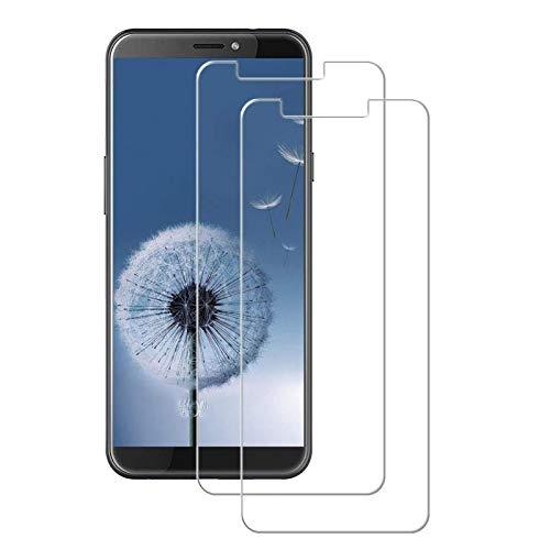 MSOSA [2 Stück Panzerglas für HTC Desire 12S Schutzfolie, 9H Festigkeit Panzerglasfolie HD Bildschirmschutzfolie Vollständige Abdeckung Glas Folie für HTC Desire 12S-Transparent