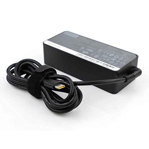 Lenovo ThinkPad - Cargador de ordenador portátil de 65 W USB tipo C (USB-C) para X1 Carbon 2017 2018, T580 E580 X280 E485 A485 T480S, Yoga 920 720 730 L380, S1 S2 2018, L480 L580, ADLX65YDC2A