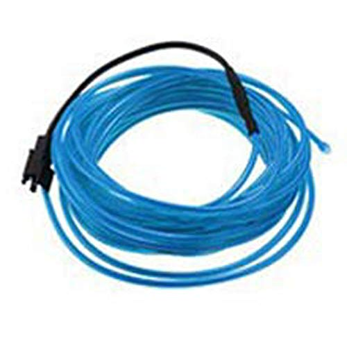 DC12V 2M Neon LED EL Draht Kabel Lampe Glow String Licht Tube Dekoration Blau