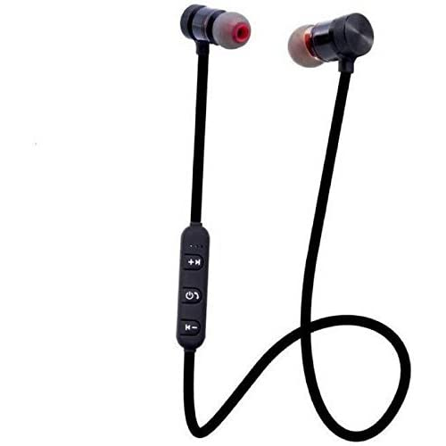 a4ce4166b39 captcha Plastic and Metal Magnetic Bluetooth Headphone with Noise  Isolation, Hands-free Mic and