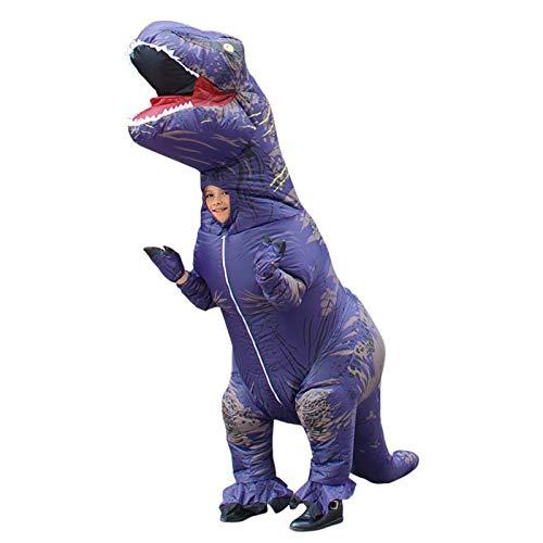 WXYAN Disfraz Dinosaurio Inflable para Niños/Adultos,Fiesta Navidad Halloween Disfraces Cosplay Traje Divertido...