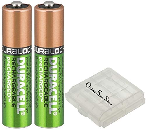 Online Sale-Shop Duracell AAA 900mAh batterijen voor draadloze telefoons Siemens Gigaset A420A E370HX E630HX E370 E630 accubox
