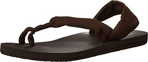 Sanuk Women's Yoga Sling It On Sandals Brown 9