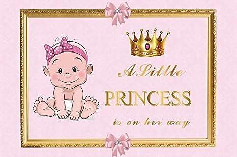 8x6.5ft Vinyl Happy Birthday Backdrop Photography Background Its 16 Years Old Golden Birthday Princess Hat Birthday Party Backdrop Children Baby Adults Portraits Photo Studio