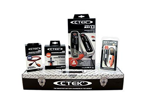 CTEK MXS5.0 (56-305) Toolbox Set Ladegerät mit Zubehör