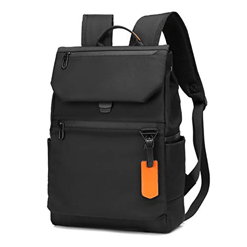 Kamlui Laptop Backpack 13-14-15.6 Inch Stylish Laptop Bag for Men Women Student Bookbag Work with USB Charging Port Computer Backpack Purse, for Macbook Pro Air HP Dell,Black