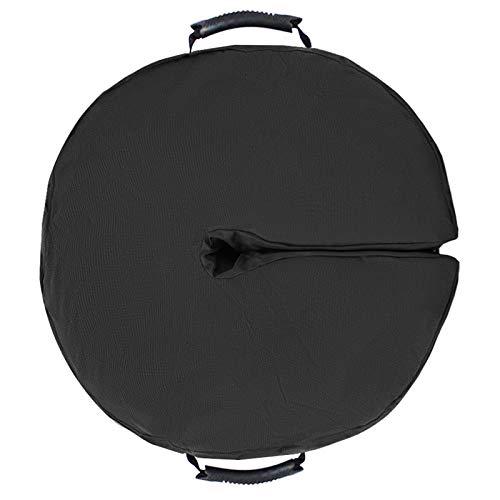 Bolsa de peso para sombrilla, base de paraguas, bolsas de peso de 45,72 cm, resistentes para sombrilla de arena redondas, para exteriores, patio, paraguas, soporte fácil de transportar e instalar