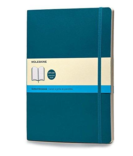 Moleskine Notizbuch, Xlarge, Punktraster, Soft Cover, Unterwasser-Blau