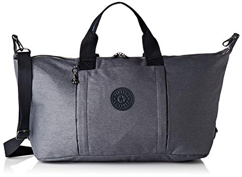 Kipling BORI Bolsa de Viaje, 71 cm, 49 Liters, Negro (Charcoal)