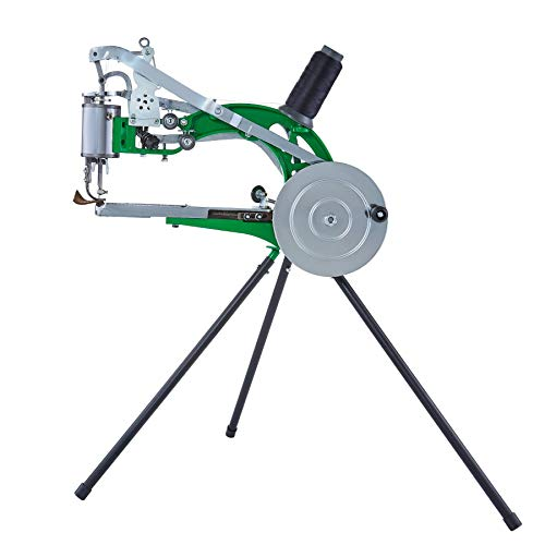 CO-Z Shoe Sewing Machine, Cobbler Hand Crank Shoe Repair Machine, Dual Nylon Cotton Line Sewing Leather Stitching Machine for Shoes Bags Clothes