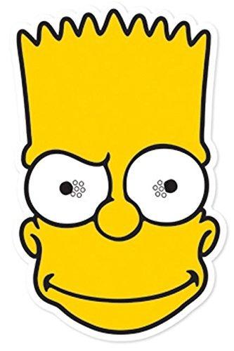 STAR CUTOUTS - Stsm147 - Masque pour Adulte Bart - Les Simpson