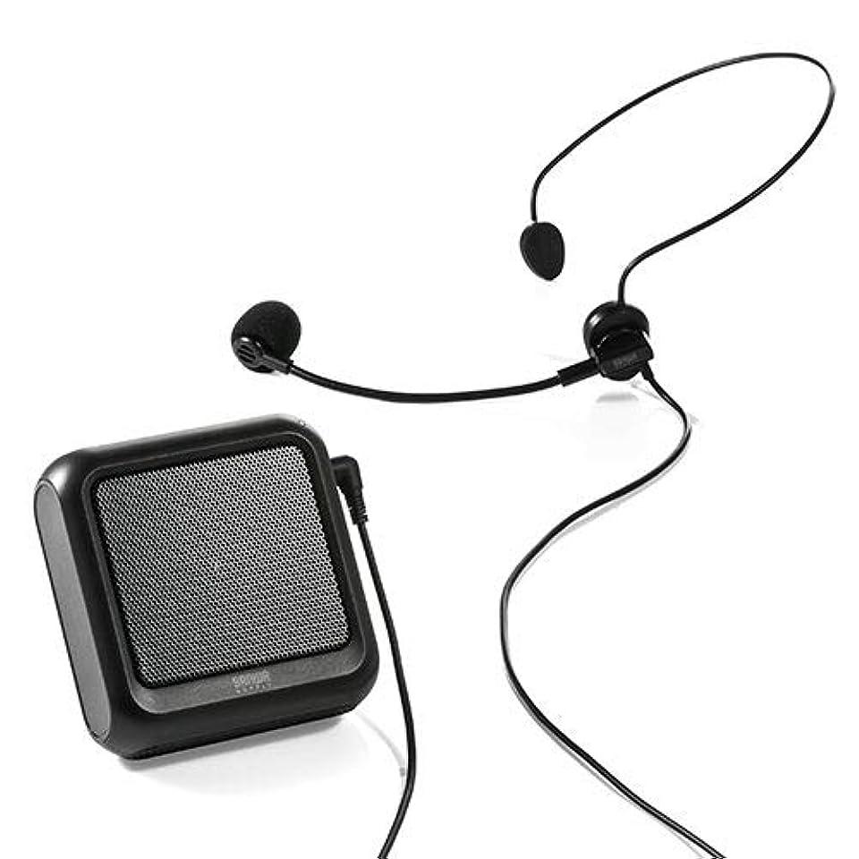 南東開始抵抗力があるイーサプライ 拡声器 ハンズフリー ポータブル 小型 マイク スマホ Bluetooth対応 12W EZ4-SP076