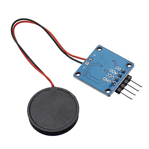 TZT 5V Piezoelectric Film Vibration Sensor Switch Module TTL Level Output Geekcreit for A-r-d-u-i-n-o - products that work with official A-r-d-u-i-n-o boards 5pcs Electronics Module Parts
