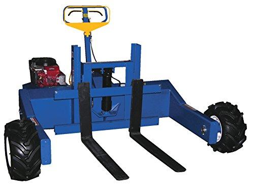 Vestil ALL-T-2-GPT All-Terrain Pallet Truck Propane, 2000 lb. Capacity, 79'Width x 74-5/16' Length x 45-1/8'Height, 4' x 36' Forks, Large, Blue
