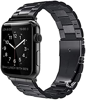Innoo Tech Apple Watch Band 42/44mm Stainless Steel Metal Strap Upgraded Replacement Link for iWatch Apple Watch Series 6/...