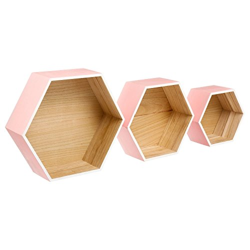 ATMOSPHERA Set von DREI Wandboards Lovely Pink