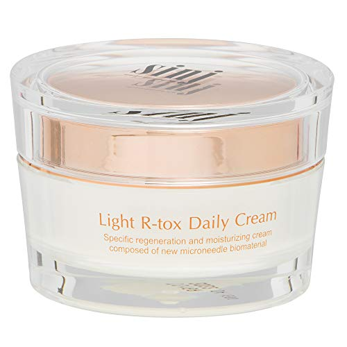 SINJ Refreshing Daily Cream 50ml - Raphitox Micro Needling - Natural Facial Skin Renewal, Boosts Moisture, Hydrating and Moisturizing Effects - Wrinkles, Dark Circles Reducing, Everyday