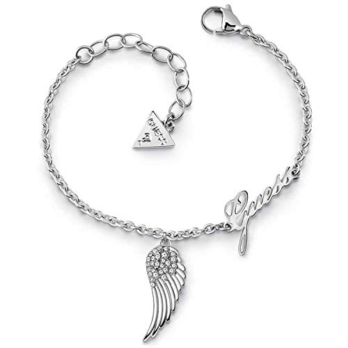 Guess armband Fly with me UBB29087-S zilveren vleugel
