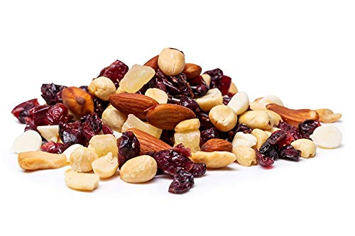 Oregon Farm Fresh Snacks Cranberry Craze - Fresh Oregon Grown Cranberry Cashew Almond Trail Mix with Dried Pineapple and Yogurt Chips - Healthy Cranberry and Nuts - Trail Mix (20oz)