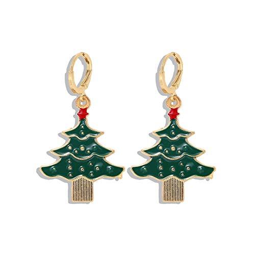New Christmas Xmas Snowman Drop Earrings For Women Statement Candy Bulbs Trimming Earrings Nutcracker Sparkle Ornament Wholesale-20-