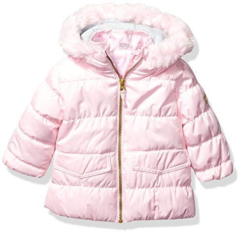 Osh Kosh Baby Girls 4 in 1 Heavyweight Systems Jacket Set, Pink Flower Pot, 12MO