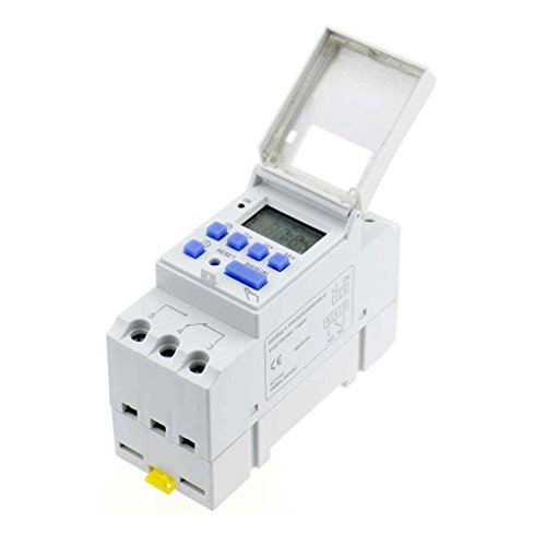 Laileya Multi-función de temporizador programable 220V Interruptor de temporizador Controlador inteligente de ahorro de energía