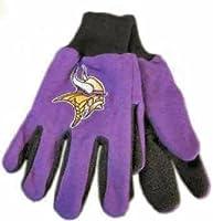 WinCraft NFL Minnesota Vikings Kids Two Tone Gloves