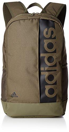 adidas Lin Per Backpack BR5090 Rucksack, 19 Liter, Green