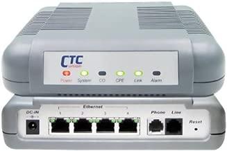 VDTU2A-304 VDSL2 LAN Extender - VDSL2 DMT Ethernet modem with 4 port 10/100BaseTX switch