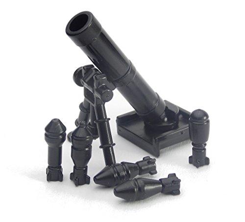BrickArms Minifig.Cat Custom M2 Mörser mit Granaten