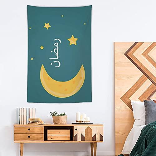 Tapiz Ramadán Pop Art - Tapiz de poliéster - Decoración del hogar - 100 x 150 cm