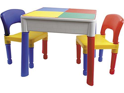COLEPROFE Mesa 3 en 1 con 2 sillas