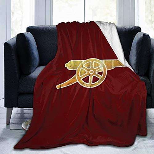 Blanket Arsenal FC The Gunners Super Soft Light Weight Cozy Warm Fluffy Plush Blanket for Bed Couch Living Room