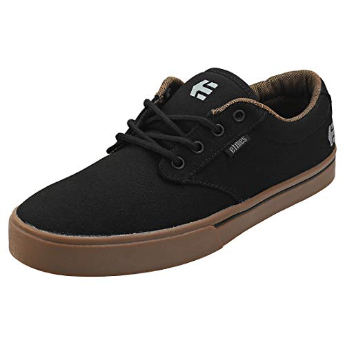 ETNAB Etnies Jameson 2 Eco Zapatillas de Skateboard para Hombre,Negro ( 558/Black/Charcoal/Gum 558) , 7.5 EU
