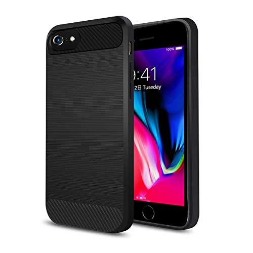 Qi Wireless Charging Case for iPhone 7 6S 6, ANGELIOX Wireless Charger Charging Receiver Back Cover,Soft TPU Protective Case,Brushed Surface Finish, Designed with Cable Charging Port(4.7in-No Battery)