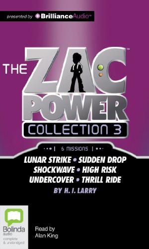 The Zac Power Collection 3: Lunar Strike / Sudden Drop / Shockwave / High Risk / Undercover / Thrill Ride