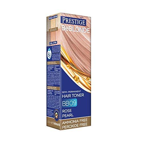 VIPs Prestige BeBlonde Semi-Permanente Haar Toner Farbe Rose Perle BB09, Kein Ammoniak, kein Peroxid