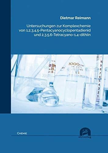 Untersuchungen zur Komplexchemie von 1,2,3,4,5-Pentacyanocyclopentadienid und 2,3,5,6-Tetracyano-1,4-dithiin