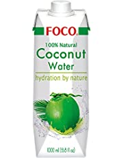 Foco Coco Agua, PUR, 100% Natural, Tetra Paquete (3unidades, X 1L)