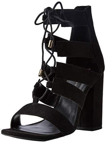 New Look Damen Relish Sandalen, Schwarz (Black 1), 39 EU