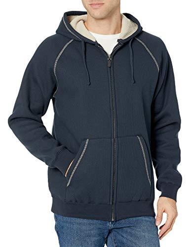 Charles River Apparel Men's Thermal Bonded Sherpa Sweatshirt, Navy, 3XL