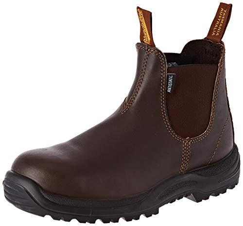 Blundstone Unisex-Erwachsene Work & Safety Boots Chelsea-Stiefel, Braun wasserdicht, 43.5 EU