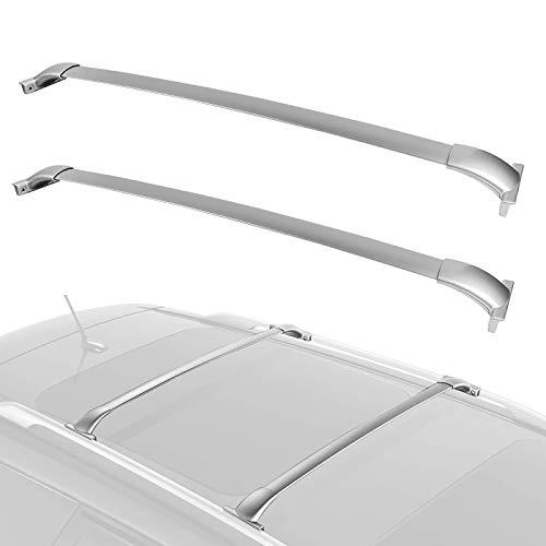 Piaobaige Portaequipajes De Techo De Coche para Nissan Pathfinder 2013 2014 2015 2016 2017 2018 2019 Barras Transversales De Aluminio Superiores De Riel De Carga De Equipaje