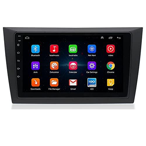 Android 10.0 9 Pulgadas Radio Satelital Para Automóvil Reproductor Multimedia Autoradio 2.5D Navegador GPS Para VW GOLF 6 2009-2016 Soporte WiFi Bluetooth/Control Del Volante(Color:WIFI 1G+16G)