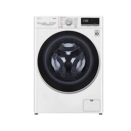LG F4WV5010S0W lavadora Independiente Carga frontal 10,5 kg 1400 RPM A+++ Blanco