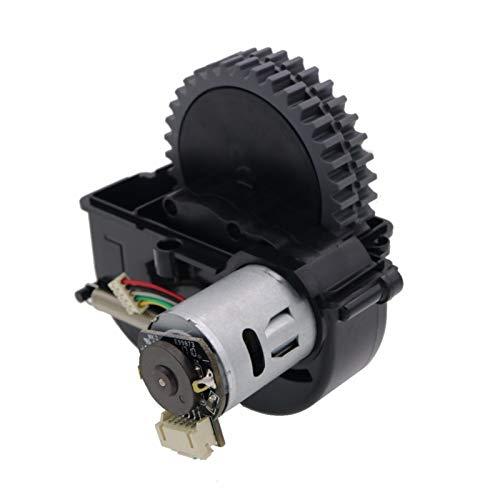 ZRNG Robot de la Rueda Izquierda Piezas de la aspiradora Accesorios Ajuste para ILIFE V3S Pro V5S Pro V50 V55 Robot Robot Aspirador Ruedas Motores La instalación es Simple y fácil de Usar.