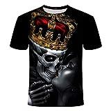 Hombres Ocio Camiseta De Impresión 3D CamisetaDivertida De Hombres Y Mujeres con Estampado De Pescado Camiseta De Hip Hop Harajuku Asian...